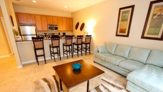 4 Bedroom 3 Bathroom Town Home With Pool in Paradise Palms. 8971COCO - Image 1 - Orlando - rentals