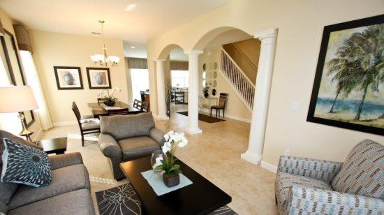 Executive 5 Bedroom 4 Bathroom Luxury Home Near Disney In Gated Community. 1011SP - Image 1 - Orlando - rentals