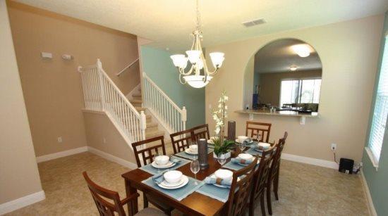 5 Bedroom 4.5 Bathroom Pool Home In New Resort. 4405AC - Image 1 - Orlando - rentals