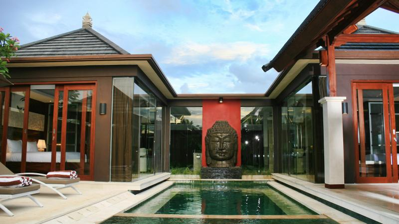 Villa and Pool view - Ava Villas,7 luxury 2bed Boutique Villas, Seminyak - Seminyak - rentals