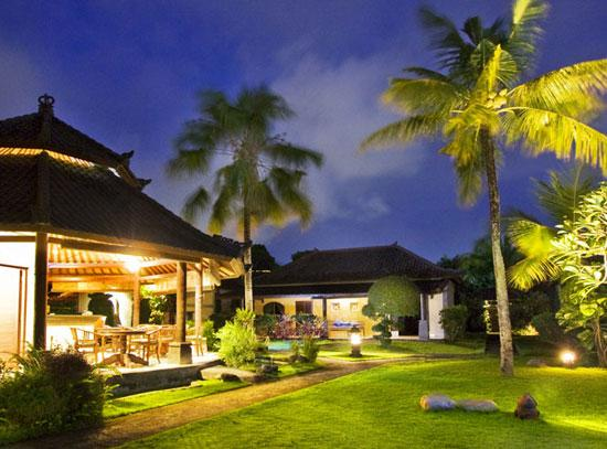 Restaurant and Villa view - Lalu 2 Bedroom Villa in the Heart of seminyak - Seminyak - rentals