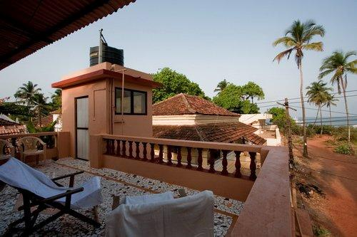 Roof Top Sea View  Terrace (II) - Romantic Portuguese Beach side Villa - Goa - rentals