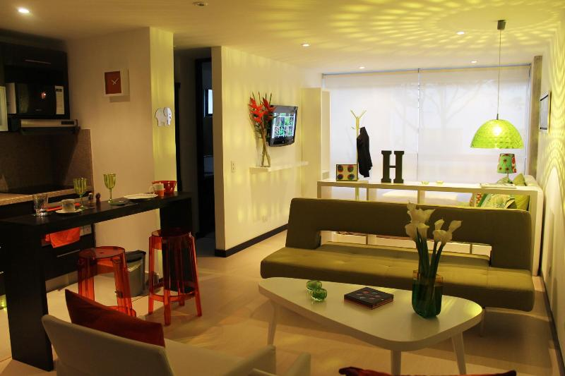 Living Area - Designer Studio in Chapinero - Bogota - rentals