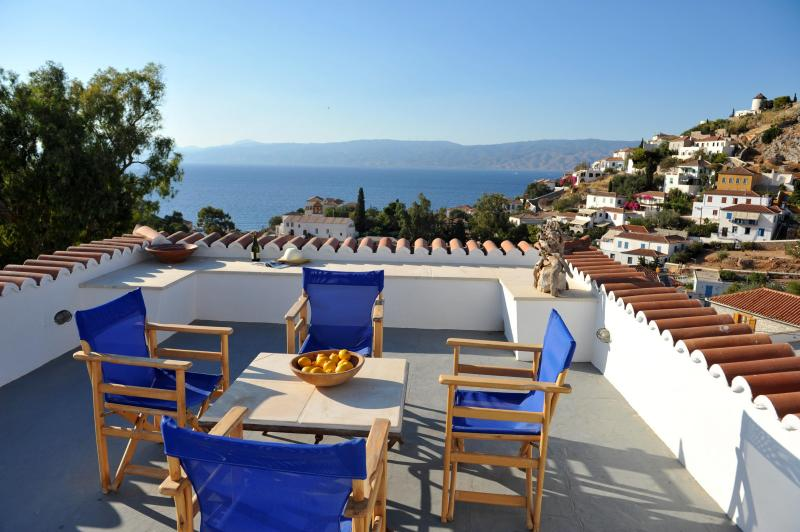 Top Floor terrace with Sea View - Freddy's House-One of the Great Ones-Lower Kaminia - Hydra - rentals