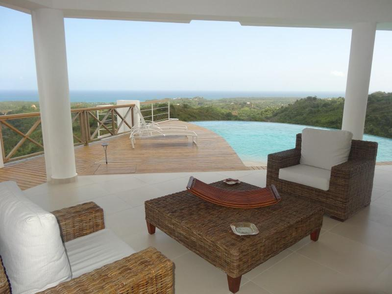 Superb villa for 6 people with view of the ocean - Image 1 - Las Terrenas - rentals