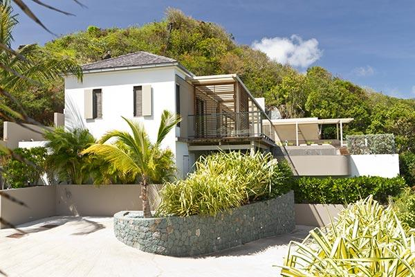 Contemporary villa with view over the ocean & Bonhomme Island WV CAS2 - Image 1 - Colombier - rentals