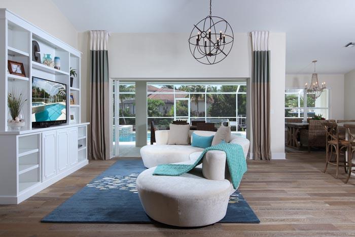 Living Area - Diplomat Ct, 576 - Marco Island - rentals