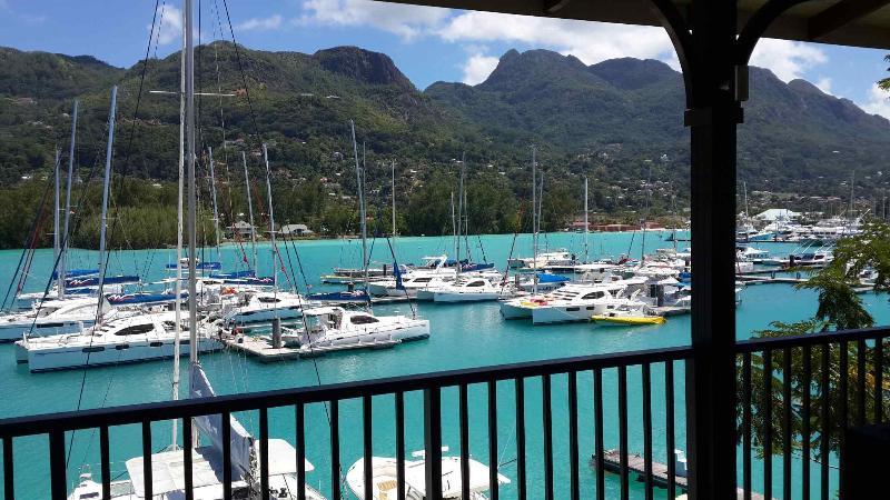 View of Marina from  Main Veranda. - Eden Island Marina Penthouse (165m2) - Eden Island - rentals