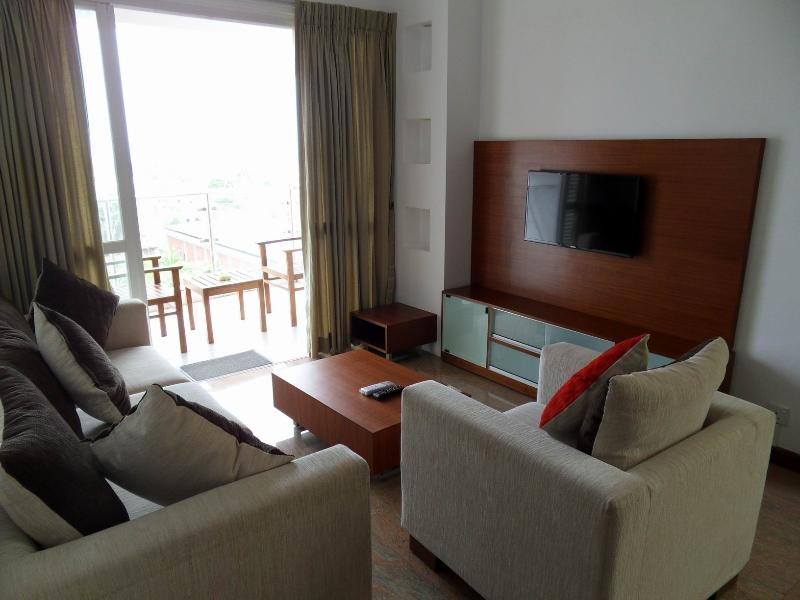 Cozy And Comfortable Living Area - Fully Furnished Seaside 3BR Apartment - short term - Colombo - rentals