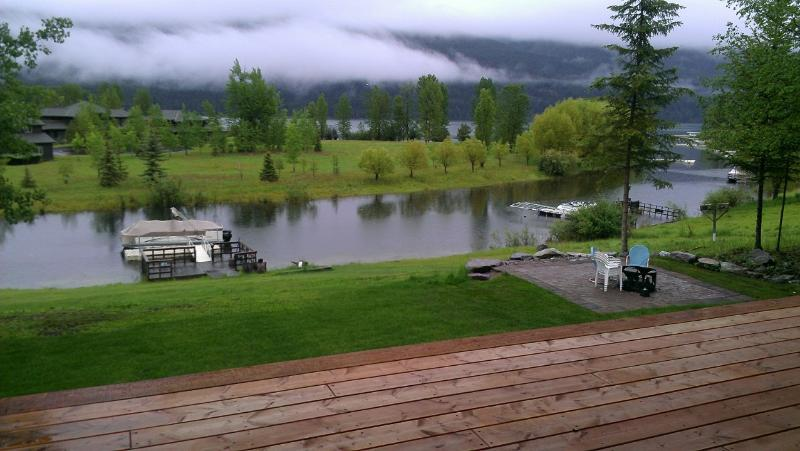 View from Master bedroom - Tranquility below Whitefish Mountain Resort - Whitefish - rentals