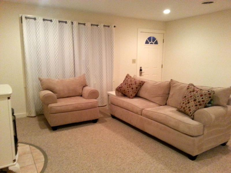 Living room - Cozy & Modern Home -mins from Tanglewood & Kripalu - West Stockbridge - rentals