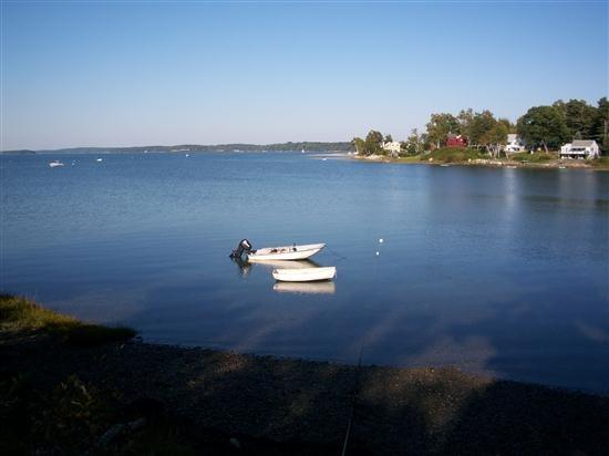 View of the Cove from waters edge - Windrift - Harpswell - rentals