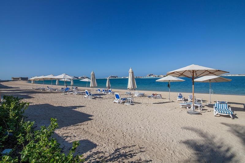 2 BD Palm Jumeirah, Full sea view, Private beach! - Image 1 - Palm Jumeirah - rentals