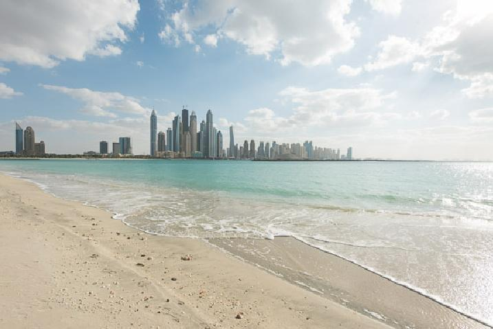 1 BD Fairmont Resort, Private Beach!! - Image 1 - Palm Jumeirah - rentals