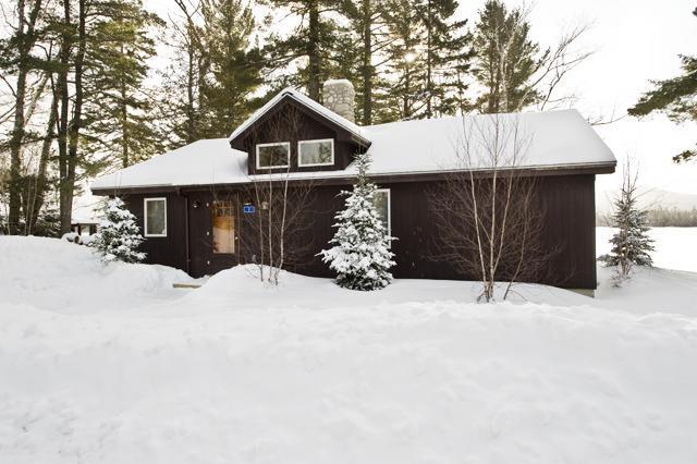 SBLL #1 - winter view - SBLL 01 - Rangeley - rentals