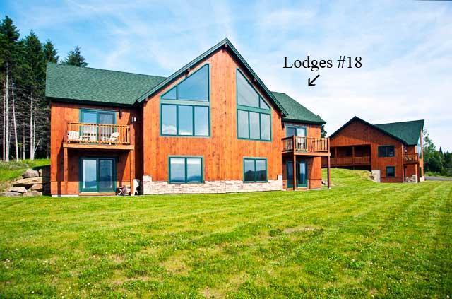 Exterior view - Lodges #18 - Rangeley - rentals