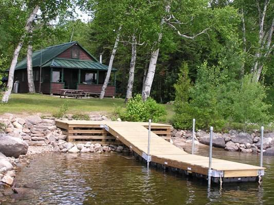 View from water - Mooseluck - Rangeley - rentals