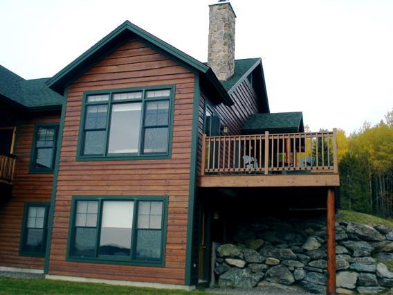 View from front - Lodges #08 - Rangeley - rentals