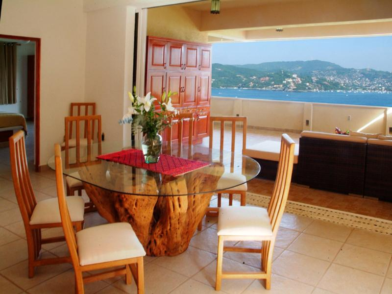 Breathtaking View from the Dining Area - Beautiful Views of Paradise! 3BR, 3BA - Zihuatanejo - rentals