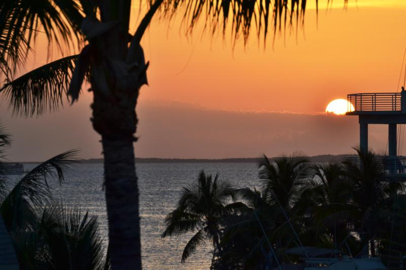 View from Balcony - Key Largo Villa - Beautiful Waterfront 3/2 + Den - Key Largo - rentals