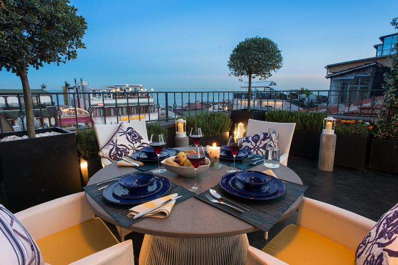 Terrace - Istanbul Irini Seaview House - Istanbul - rentals
