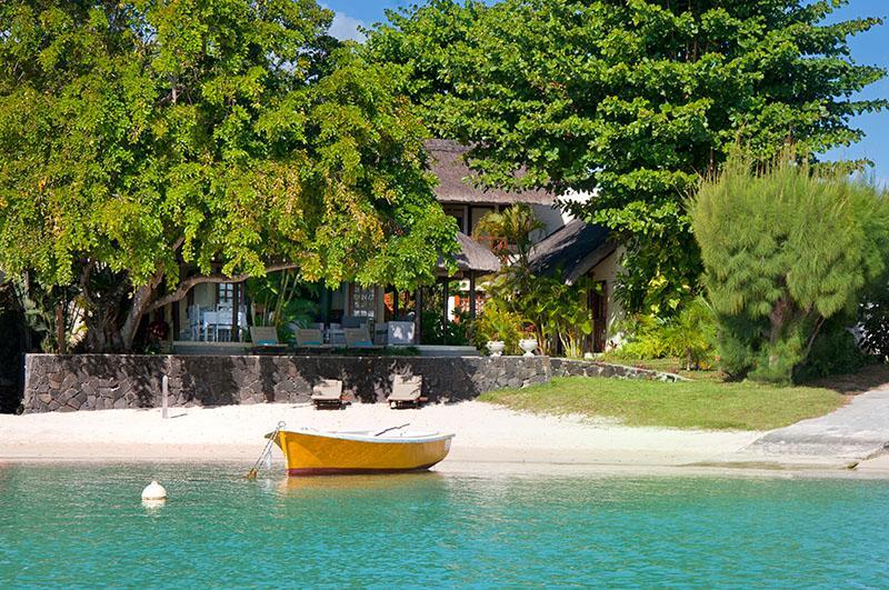 Exquisite beachfront villa - Villa Black Pearl, very elegant beachfront villa - Albion - rentals