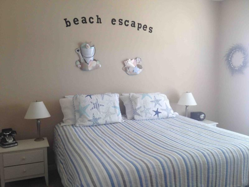 Master bedroom with King and private bath - Beach Escapes at Villages of Five Points - Lewes - rentals