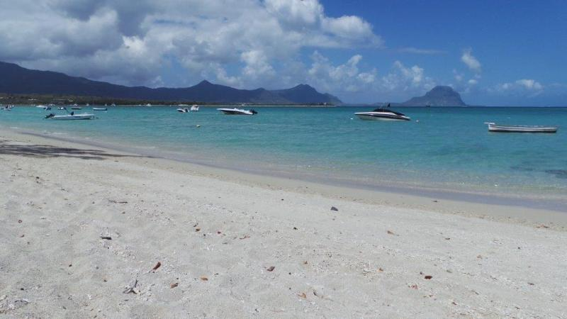 The villa is 50 meters from this white sandy beach - Villa 50m from beach at La Preneuse - West Coast - Tamarin - rentals