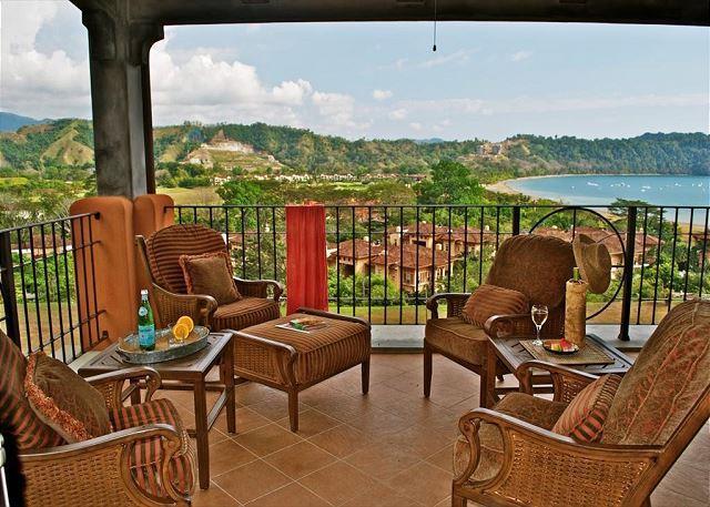 Spacious Balcony with Ocean View. - Private, Exclusive, Luxury Condo for Your Family Vacation at Los Sueños! - Herradura - rentals