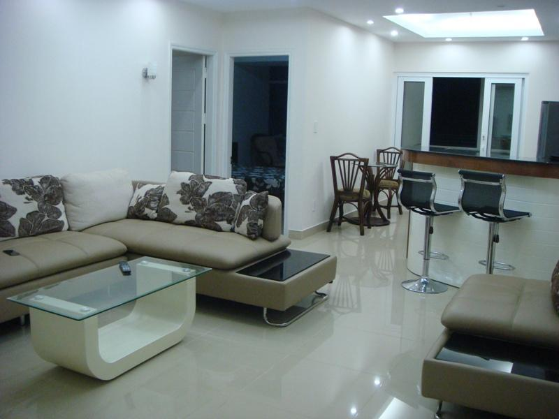Large and luxury Living room - 2-Bedroom Luxury Apartment on 15th Floor - Nha Trang - rentals