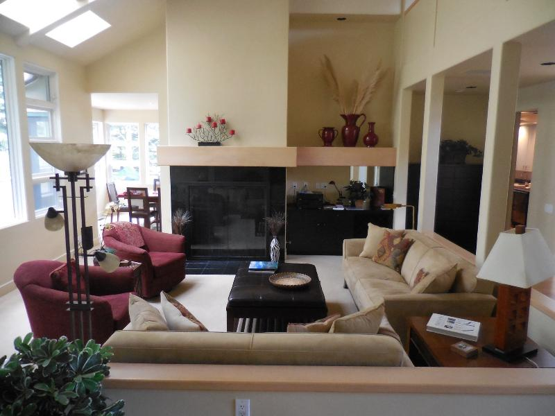 Living Room - Spectacular Large Contemporary Home in Sun Valley - Sun Valley - rentals