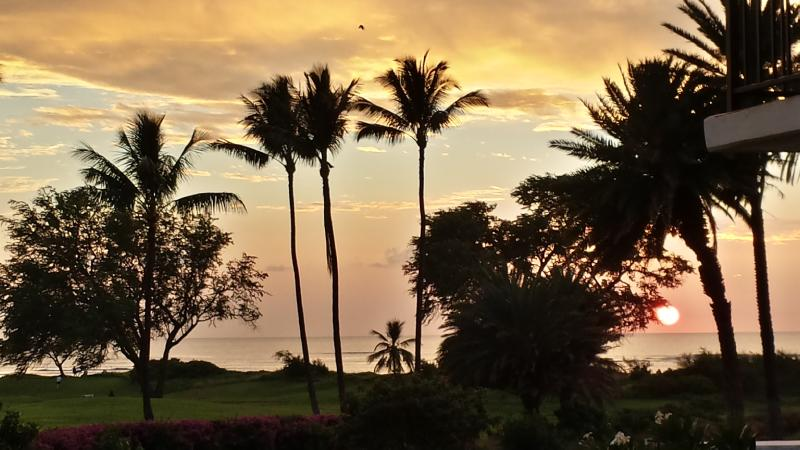 Actual Sunset Captured From Lanai View - Breathtaking clear ocean view, incredible value - Kihei - rentals