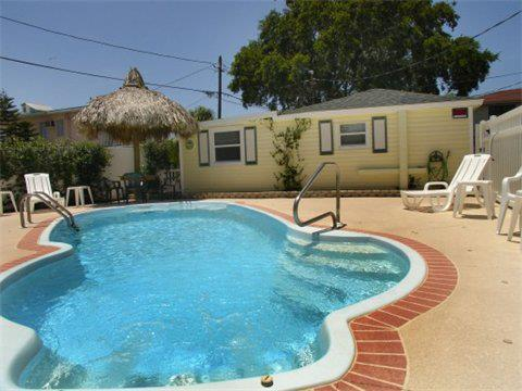Private, fenced, & heated pool - The Cottages at Madeira Beach- The Sea Horse - Madeira Beach - rentals
