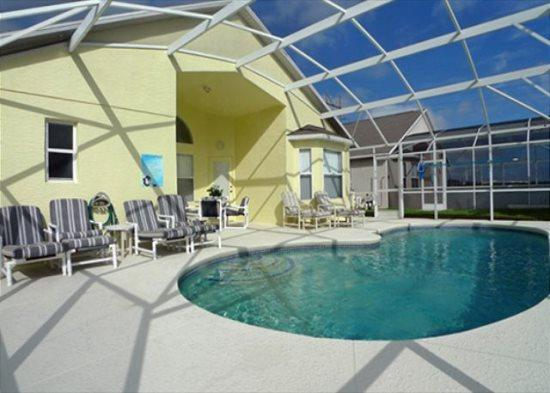Sunny and Open 4 Bedroom 3 Bath Pool Home. 246KPD - Image 1 - Orlando - rentals