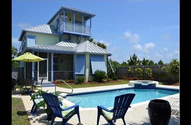 hot tub-private pool-sleep 18 - Image 1 - Santa Rosa Beach - rentals