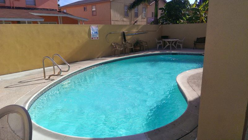 Large pool with plenty of seating - 3 bedroom in the heart of South Padre Island - South Padre Island - rentals