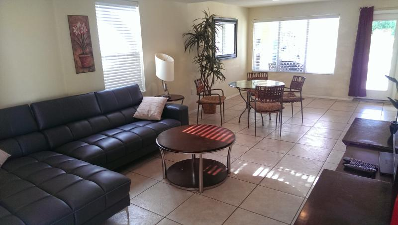 Spacious living - Fabulous duplex near the beach& boast a large pool - South Padre Island - rentals