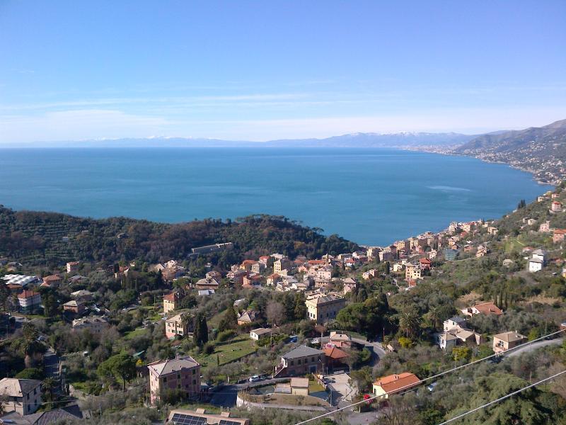 view from the balcony GOLFO PARADISO - Italian Riviera life! - Portofino - rentals