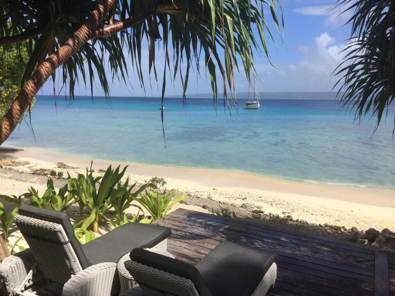 Your private beach - The Boat House | Private beach | EFATE | Vanuatu - Port Vila - rentals