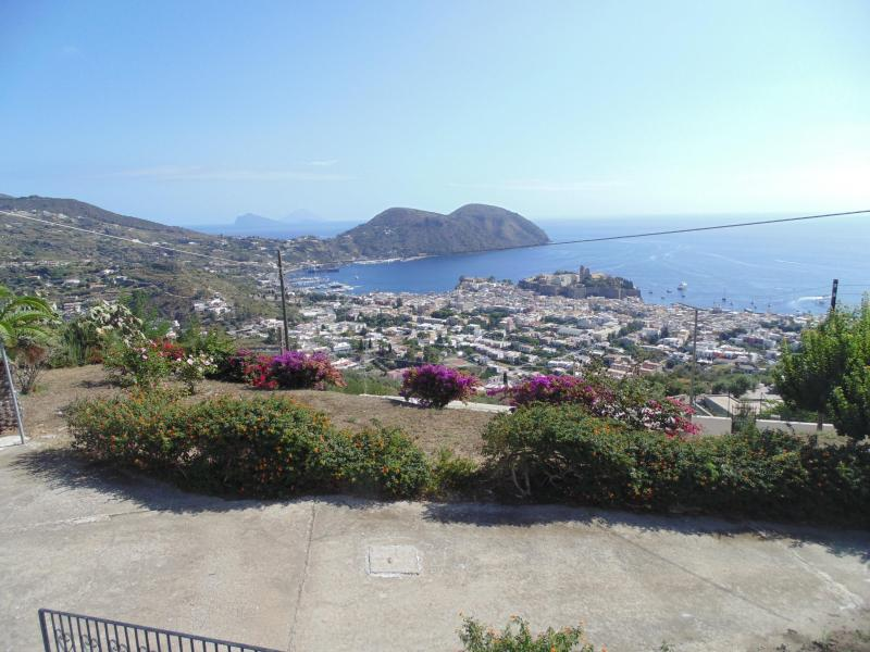 View from the patio - Panoramic Villa In Lipari (Aeolian Islands) - Lipari - rentals