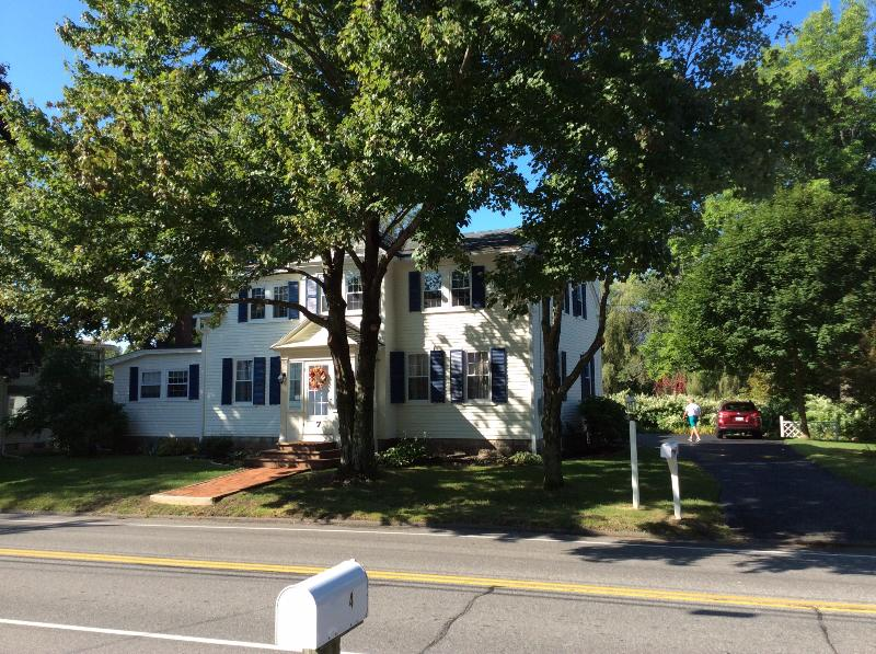 House in front  of apartment. - Beautiful Vacation Apt in Historic House - Kennebunk - rentals