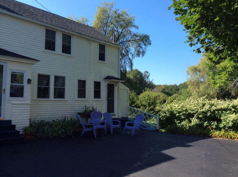 Entrance to Apt. - Beautiful Vacation Apt in Historic House - Kennebunk - rentals