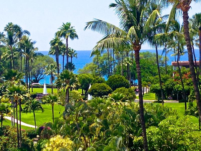 View from Lanai 5-412 - Kamaole Sands Ocean View 3BR/3BA condo starting at $199 per night!!! - Kihei - rentals