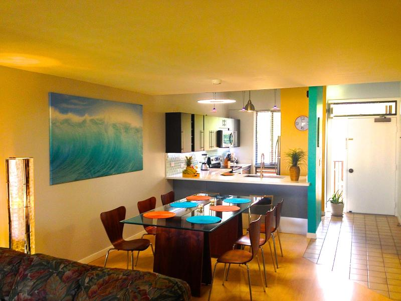 Dining & Kitchen 5-412 - Kamaole Sands Ocean View 3BR/3BA condo starting at $199 per night!!! - Kihei - rentals