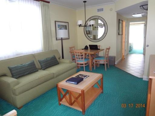 1 bedroom deluxe livingroom dinette - Harborside Atlantis Villa, Atlantis Passes included, Last minute rentals Welcome - Paradise Island - rentals