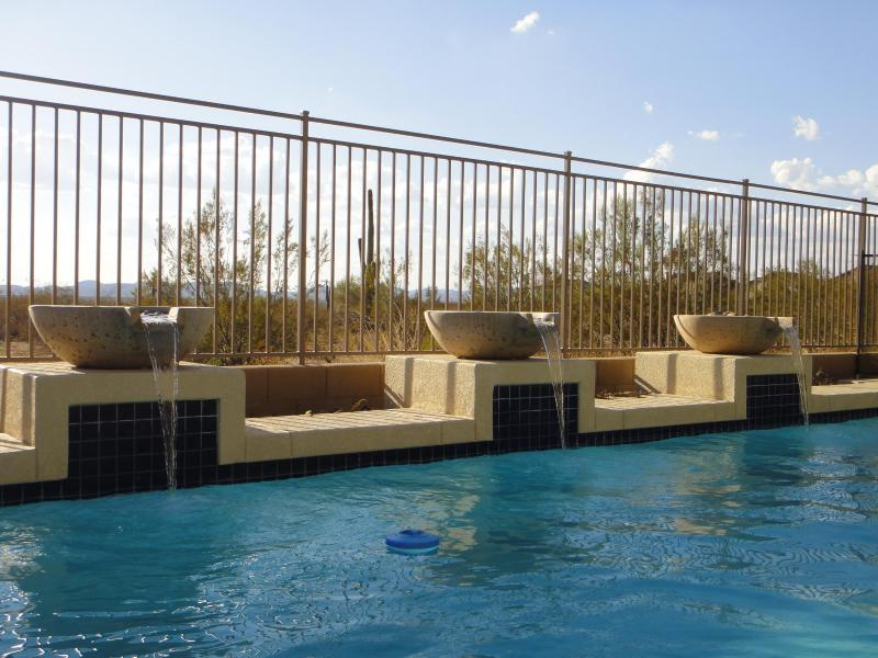 Arizona Desert Paradise- Peoria Vacation Home in the Happy Valley near Golf - Free sunshine, Heated Pool, 12 Guests, Stunning! - Peoria - rentals