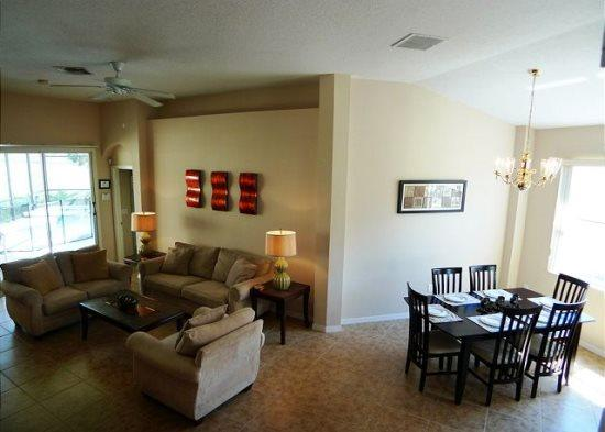 Large 6 Bedroom Villa With Spa and Games Room. 609CD - Image 1 - Orlando - rentals