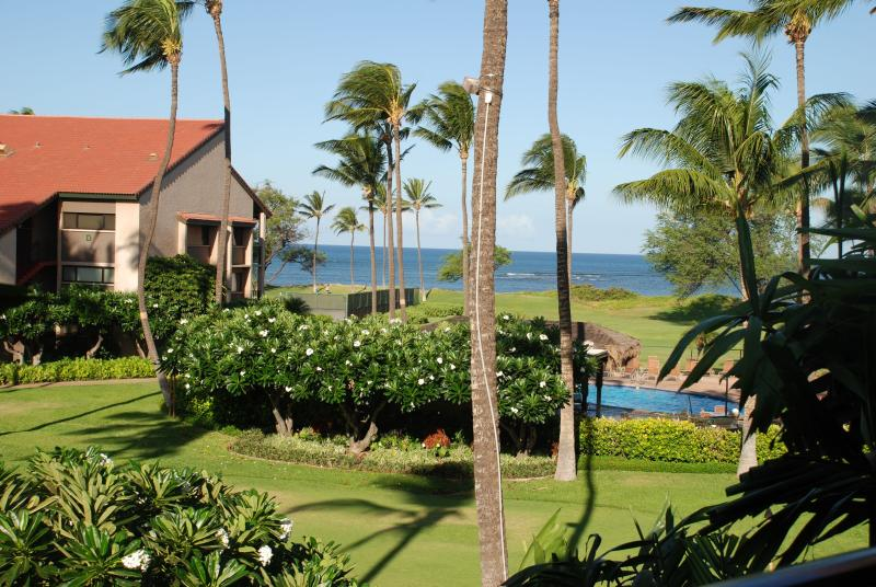 View from lanai - FABULOUS 5 STAR CONDO!!OCEANFRONT/VIEW,FREE WIFI!! - Kihei - rentals