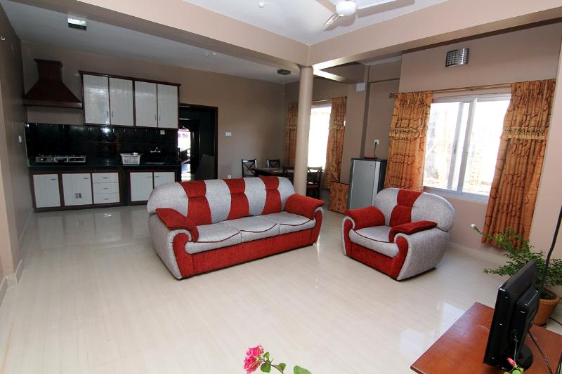 main living room - Two bedroom apartment on main street lakeside - Pokhara - rentals