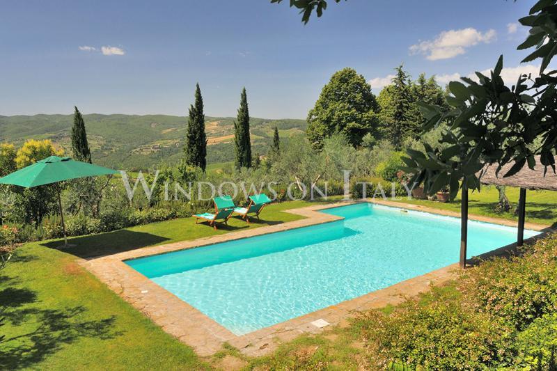 Castello Di Panzano 10 - Windows On Italy - Image 1 - Panzano - rentals